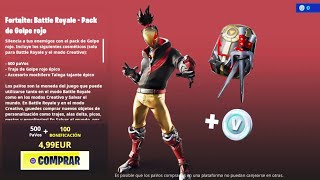 THE *NEW STORE* OF FORTNITE TODAY 15 AUGUST *NEW PACK* RED GOLPE *NEW SKIN* AND... F 😢❤️
