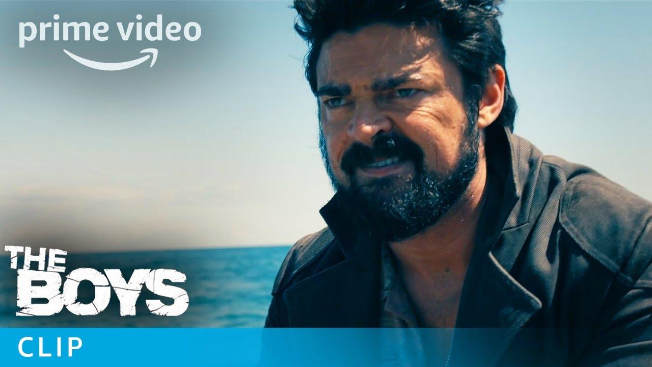 Download The Boys Season 2 Trailer Superhero Whale Scene | Prime Video