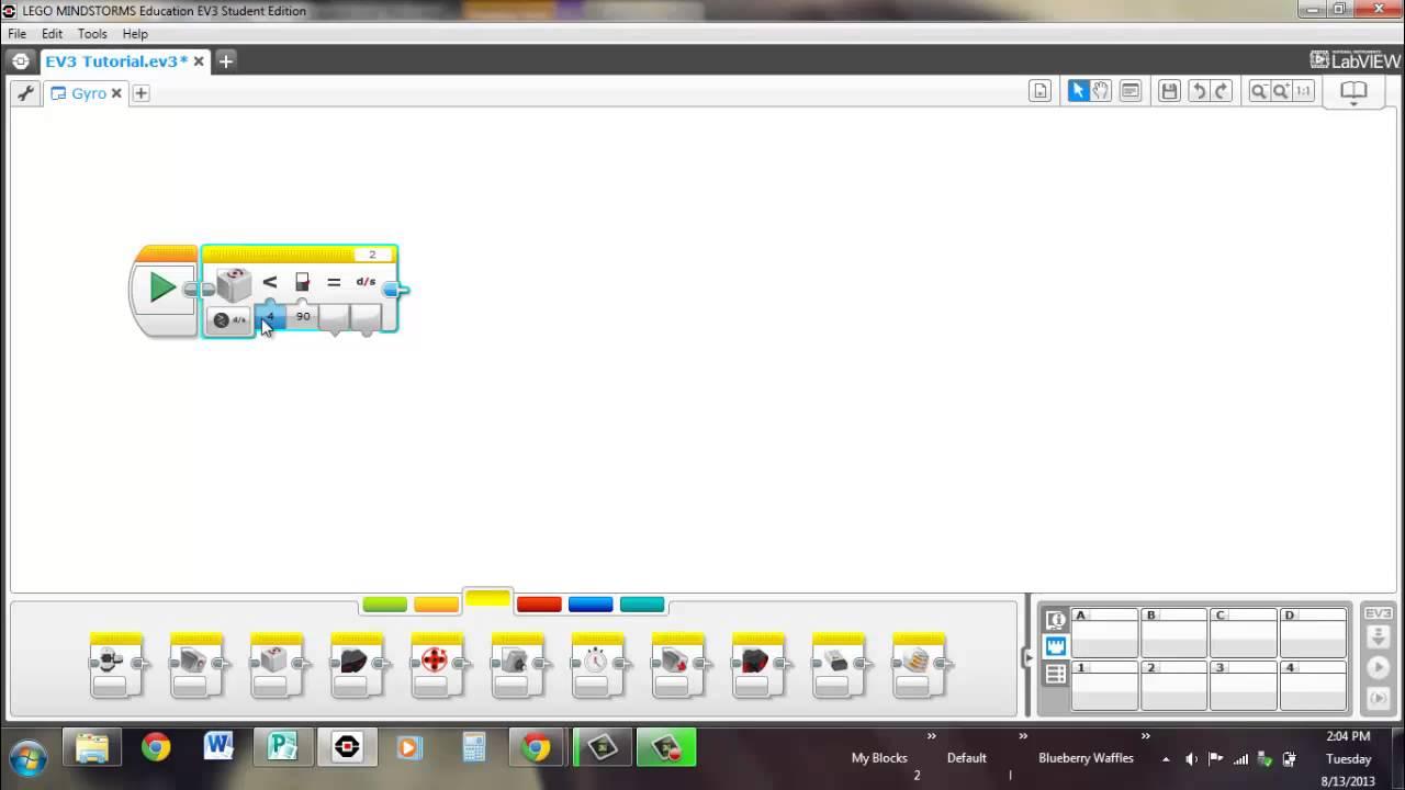 16 - EV3 Programming: Gyro