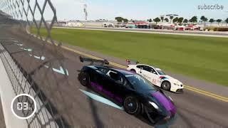 The Lamborghini test drive