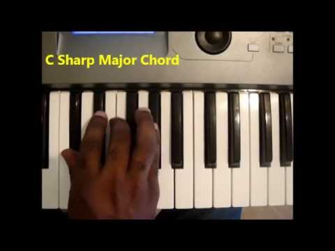 How To Play The C Sharp Major Chord C Maj On Piano And Keyboard