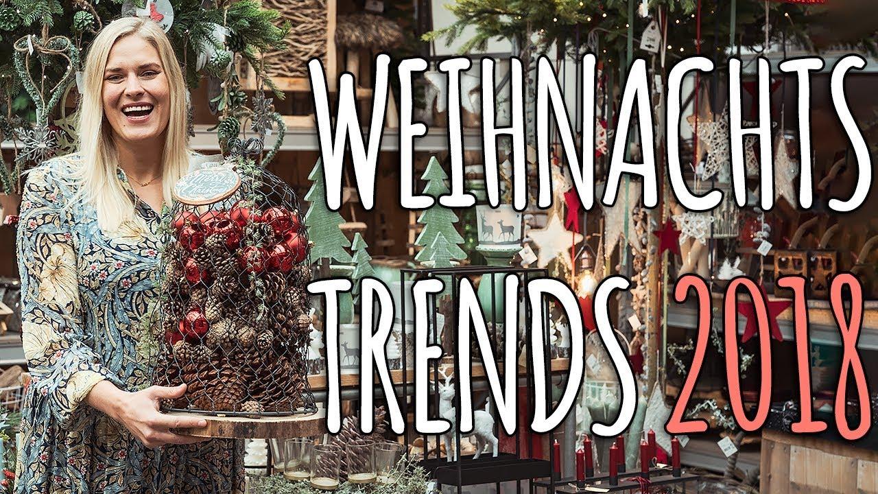 weihnachtsdeko trend 2018 erste einblicke bei uns im laden youtube. Black Bedroom Furniture Sets. Home Design Ideas