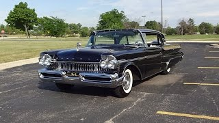 1957 Mercury Turnpike Cruiser Hardtop in Black & Engine Start Up on My Car Story with Lou Costabile