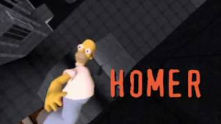 The Simpsons Skateboarding (PS2) - Video Game demo