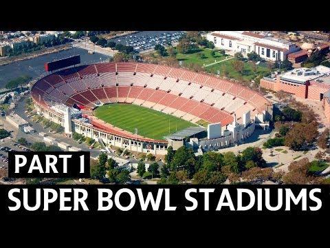 NFL Superbowl History - Venues (Part 1)