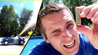 Rocket Engine Fun! I accidentally blew up the kids cars...