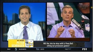 THE HERD | Peter Schrager DEBATE: Will the Jets be okay with Le'Veon sitting out preseason games?