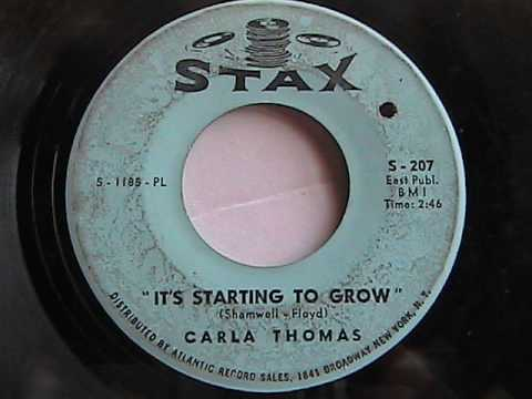 CARLA THOMAS IT'S STARTING TO GROW STAX RECORDS SOUL