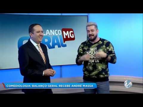 Humorista André Massa - Rede Mais