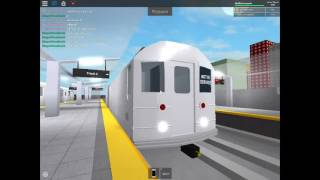 Roblox MTA Railfanning at the new Testing Terminal with RARE R142 3 train and R127 action