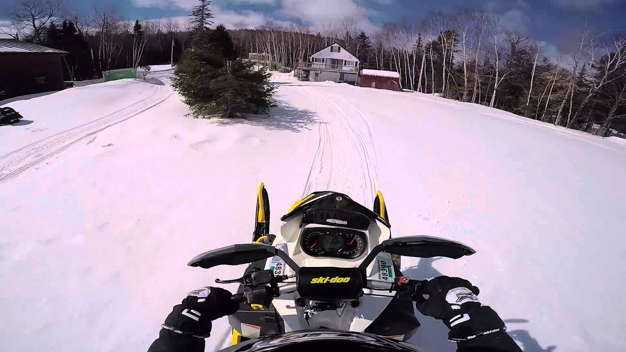 Jumping On A Ski Doo Mxz X Rs 800