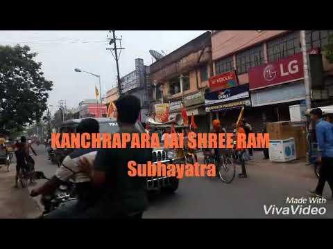 Kanchrapara Very Very Big Jai Shree Ram Subhayatra. . 💐✍SK