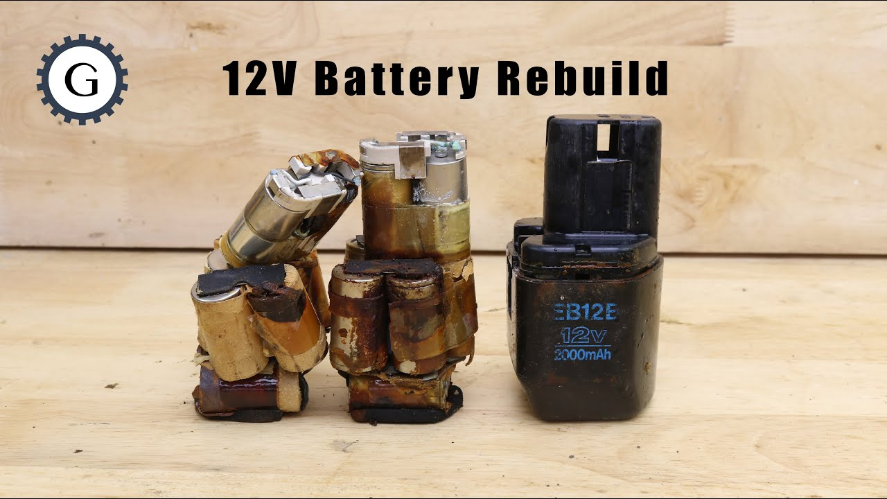 Battery 12V Rebuild Step by Step | EB12B Battery for Hitachi Impact Driver WH12DH