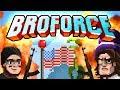 BROFORCE #01 - EXPLOSIONEN FÜR MURICA! ☆ Let's Play BroForce