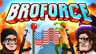 BROFORCE #01 - EXPLOSIONEN FÜR MURICA! ☆ Let's Play BroForce