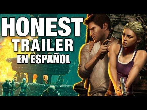 UNCHARTED (Honest Game Trailers en Español)