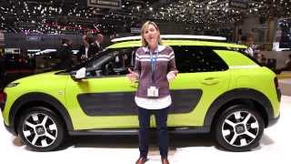 Citroën C4 Cactus - Which? first look from Geneva motor show 2014