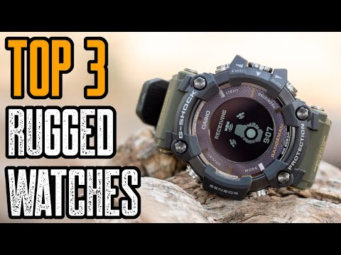 TOP 3 RUGGED SMARTWATCHES FOR OUTDOOR SURVIVAL