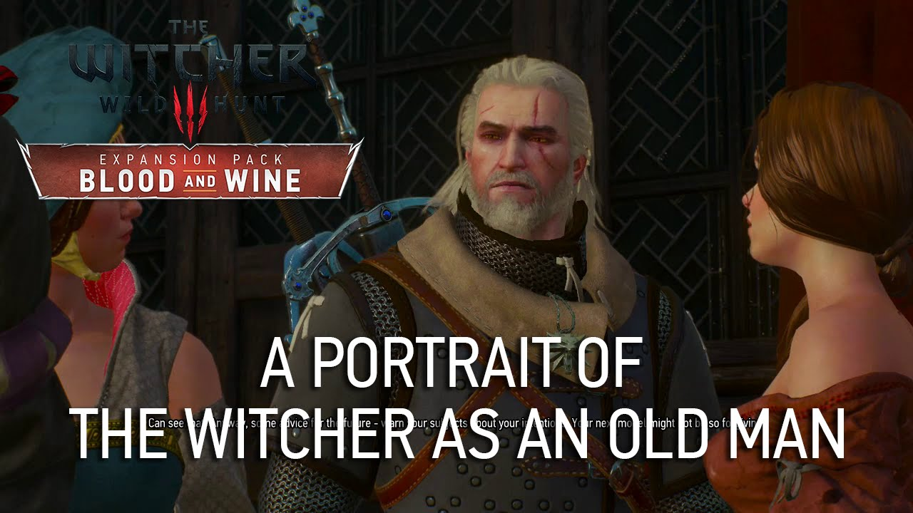 A Portrait Of The Witcher As An Old Man The Witcher 3 Wiki Guide Ign