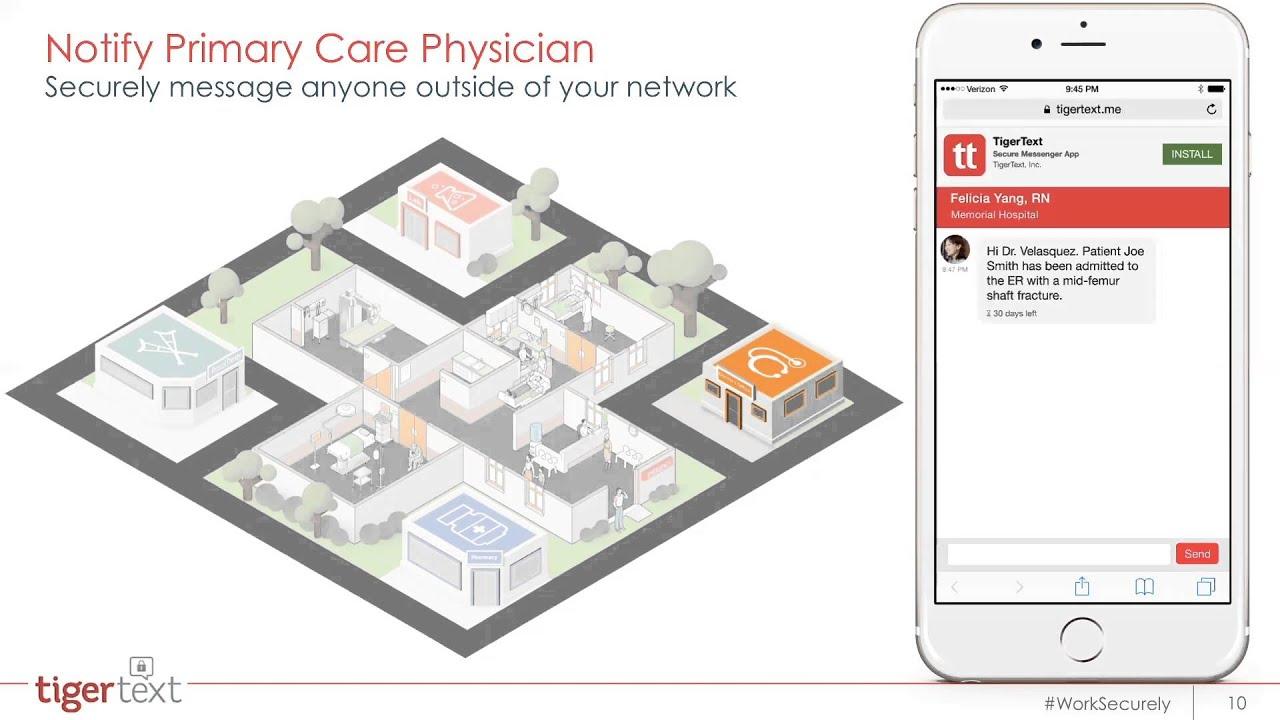 TigerConnect Demo Patient Care Coordination