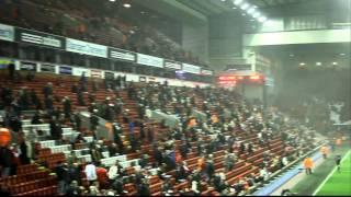 Inside Anfield Stadium
