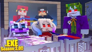Minecraft .EXE 2.0 - THE JOKER .EXE IS TURNING HARLEY QUINN INTO AN ANIMATRONIC!!