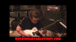 How to play Heaven And Hell by Black Sabbath on guitar by Mike Gross