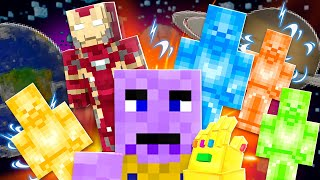 AVENGERS MINECRAFT MOVIE: THANOS RAINBOW STEVE ENDGAME