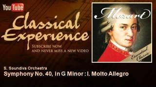 Mozart : Symphony No. 40, in G Minor : I. Molto Allegro - ClassicalExperience