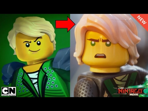 How LEGO Ninjago Ninja have changed for The LEGO Ninjago Movie!