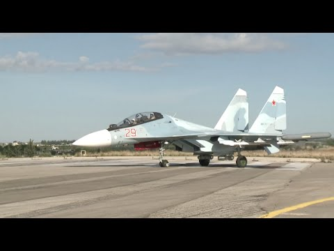 A Visit to Russian Airbase in Syria