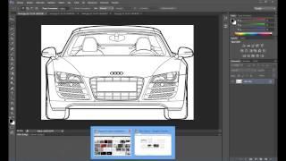 Audi R8 Araba Modelleme-1