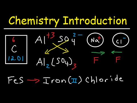 Intro to Chemistry, Basic Concepts - Periodic Table, Elements