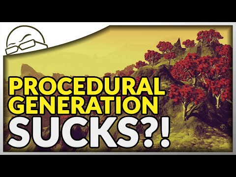 Why Does Procedural Generation Suck? Starring: No Man's Sky