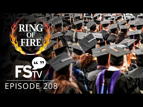 Free Speech TV | Episode 208 - College Students Under Fire - The Ring Of Fire