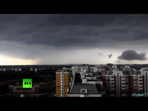 'Doomsday' Timelapse: 'Storm of the century' coming to Moscow