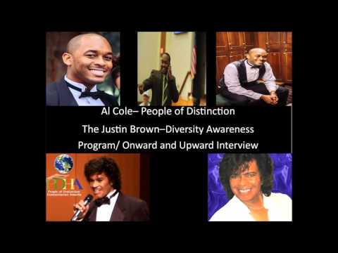 Al Cole- People Of Distinction (Justin Brown Interview)- Diversity Awareness Program