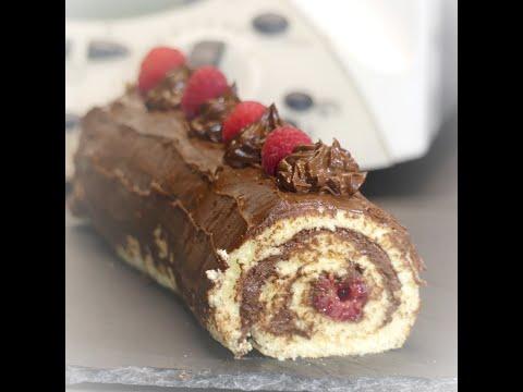 recette-de-buche-de-noël-au-chocolat-et-framboises-au-thermomix-tm31,-tm5,-tm6,-ou-autre-robot