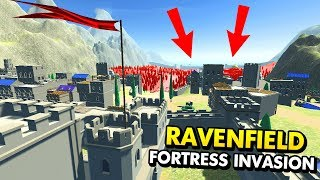 DEFENDING A FORTRESS FROM HUGE INVASION! (Ravenfield Funny Gameplay)