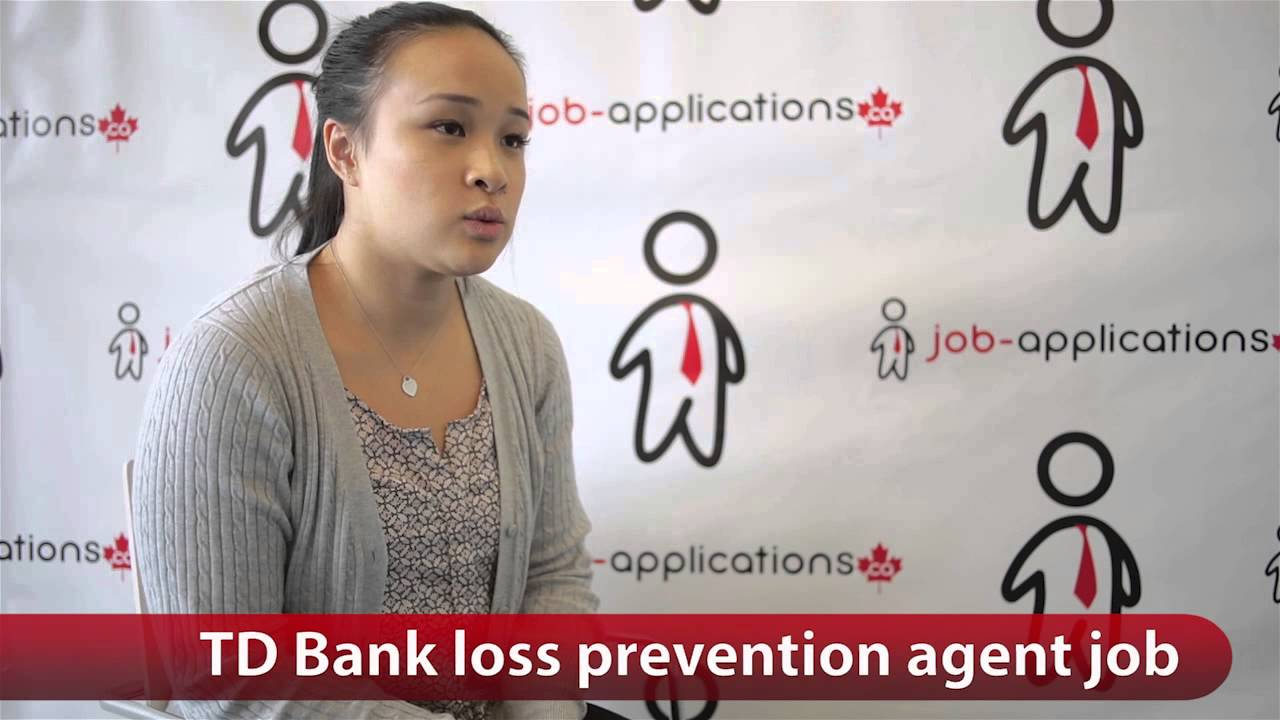 TD Bank Loss Prevention Associate Job