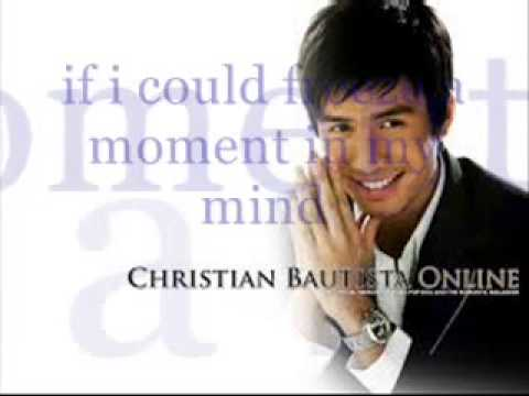 The Way You Look at Me- Christian Bautista (Lyrics)