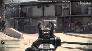 Call of Duty Ghosts Maverick assault rifle gameplay on PC! Octane domination vs bots