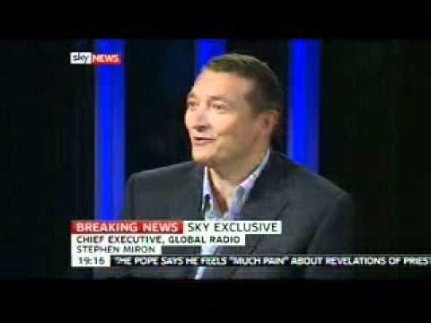 """Capital Network"" Stephen Miron Sky News Interview"