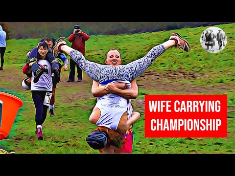 Must See Popular Videos | Plugged In - Wife Carrying Championships 2019 with Marriage Proposal Victory