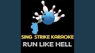 Run Like Hell (Karaoke Version) (Originally Performed By Pink Floyd)