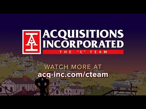 """Acquisitions Inc: The """"C"""" Team Ad"""
