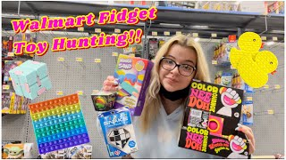 Fidget Toy Shopping At Walmart!! 🛍 Pop It's, Simple Dimples, Infinty Cubes, And More!!
