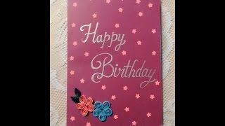 birthday gift idea  handmade card card 1