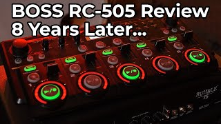 Is the BOSS RC-505 still worth it in 2021!? BOSS RC-505 Loop Station Review!