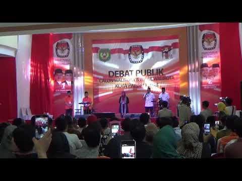 Suasana Debat Kandidat Calon Wali Kota Palopo